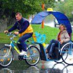 Такси: рикша или два в одном