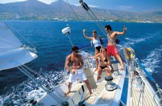 Уроки яхтинга в парусной школе