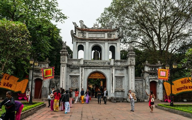 Экскурсии во Вьетнаме: храм Литературы
