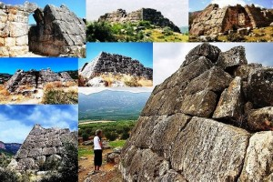 Древние пирамиды Греции