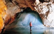 Пещеры Эйсризенвельт или гигантский ледяной мир в Альпах