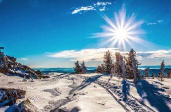 Зимнее путешествие по России