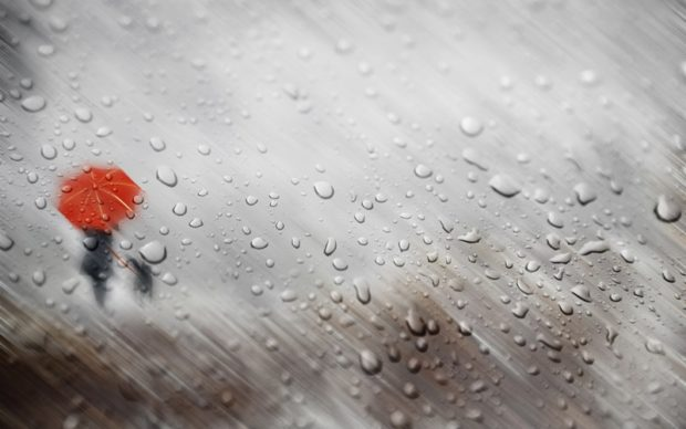 Сидел, слушал дождь в темноте и вот